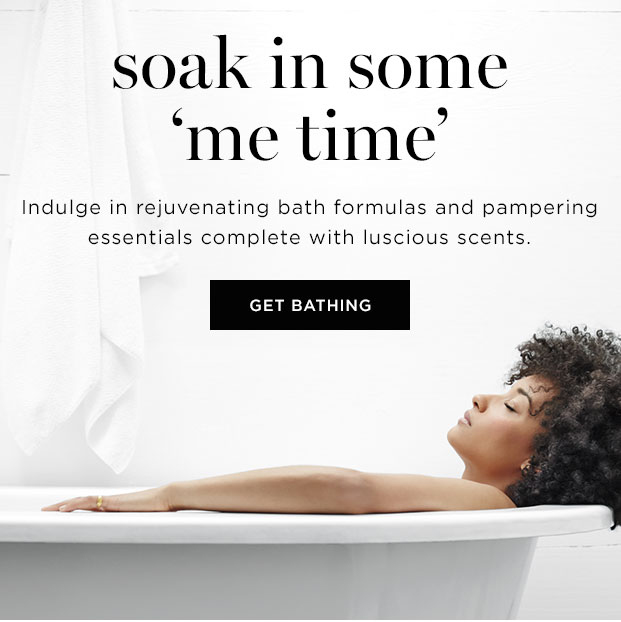 soak in some 'me time'